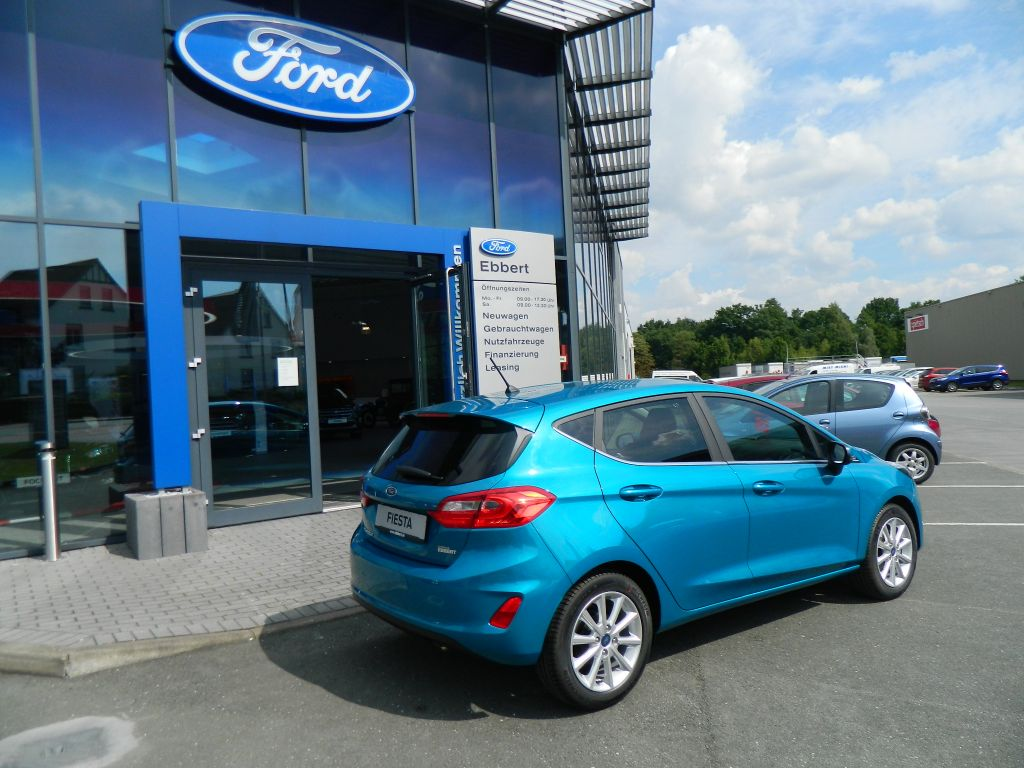 ford fiesta titanium 1 0 ecoboost s s neues modell autohaus ebbert g tersloh. Black Bedroom Furniture Sets. Home Design Ideas