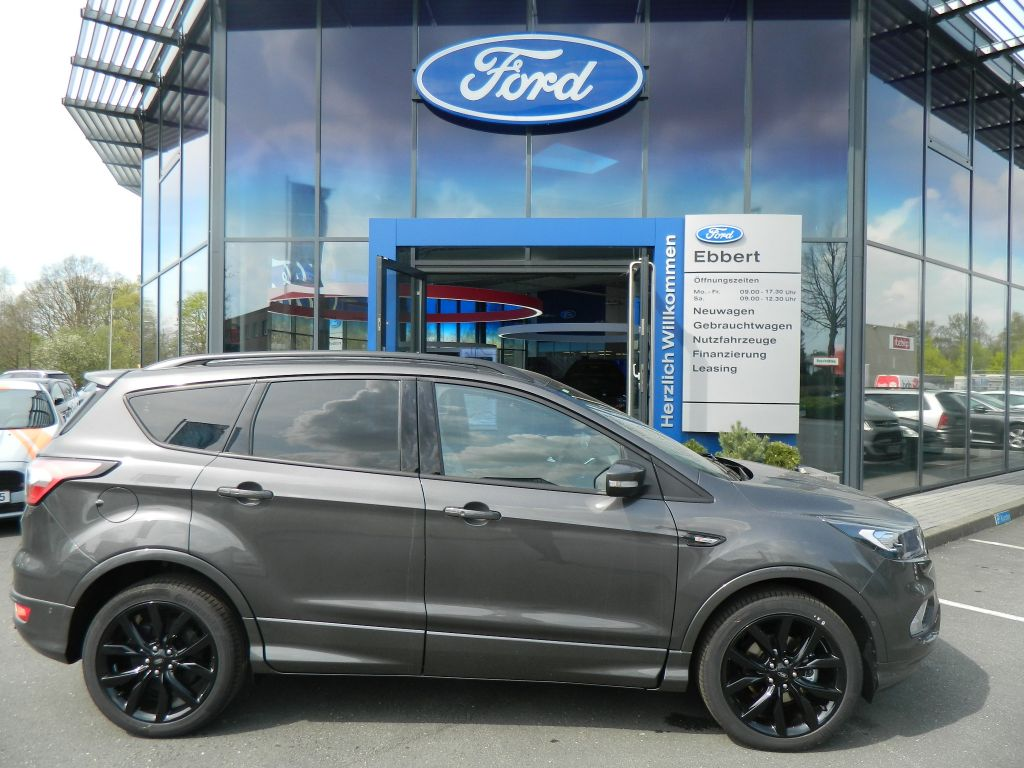 ford kuga st line 1 5l ecoboost 2x4 150 ps xenon 19 zoll. Black Bedroom Furniture Sets. Home Design Ideas